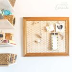Farmhouse Inspired DIY Memo Board