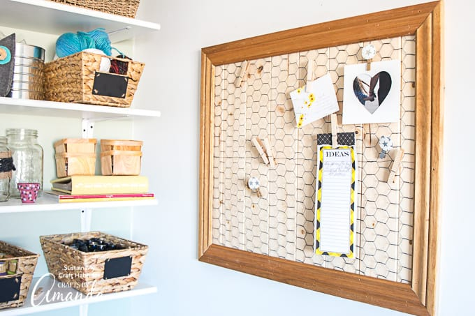 "I've used these fun DIY decorative clothespins to display my to-do lists, favorite photos, and inspiring quotes. Guess I can now cross ""DIY memo board"" off that to-do list."