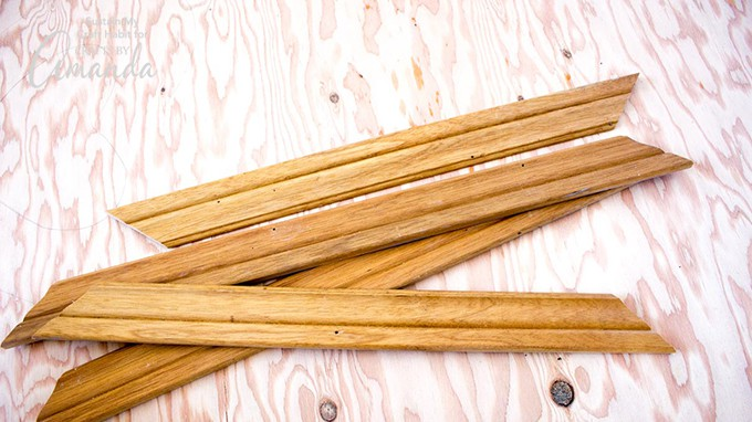 scrap wood pieces
