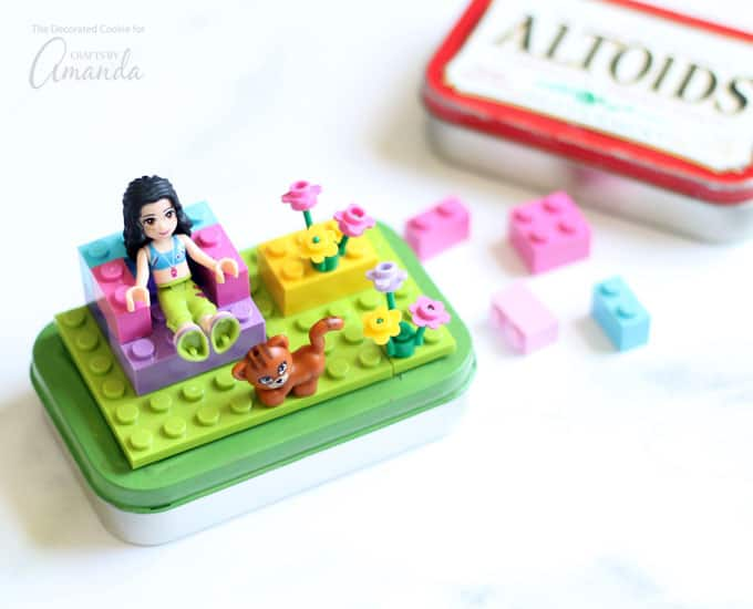 Lego Altoid Tins An Easy Recycled Craft To Keep Kids Busy