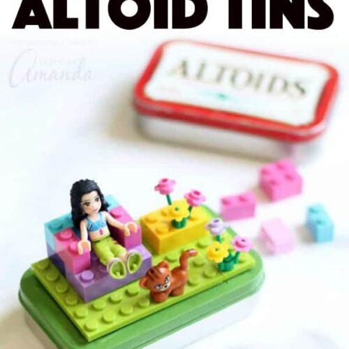Lego Altoid Tins