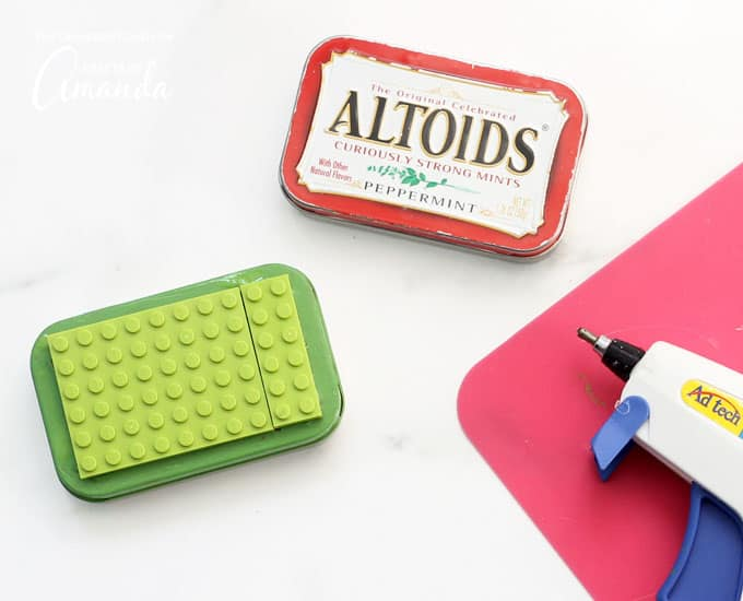 How to make Lego Altoid Tins step 2