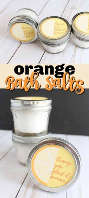 orange bath salts pin image