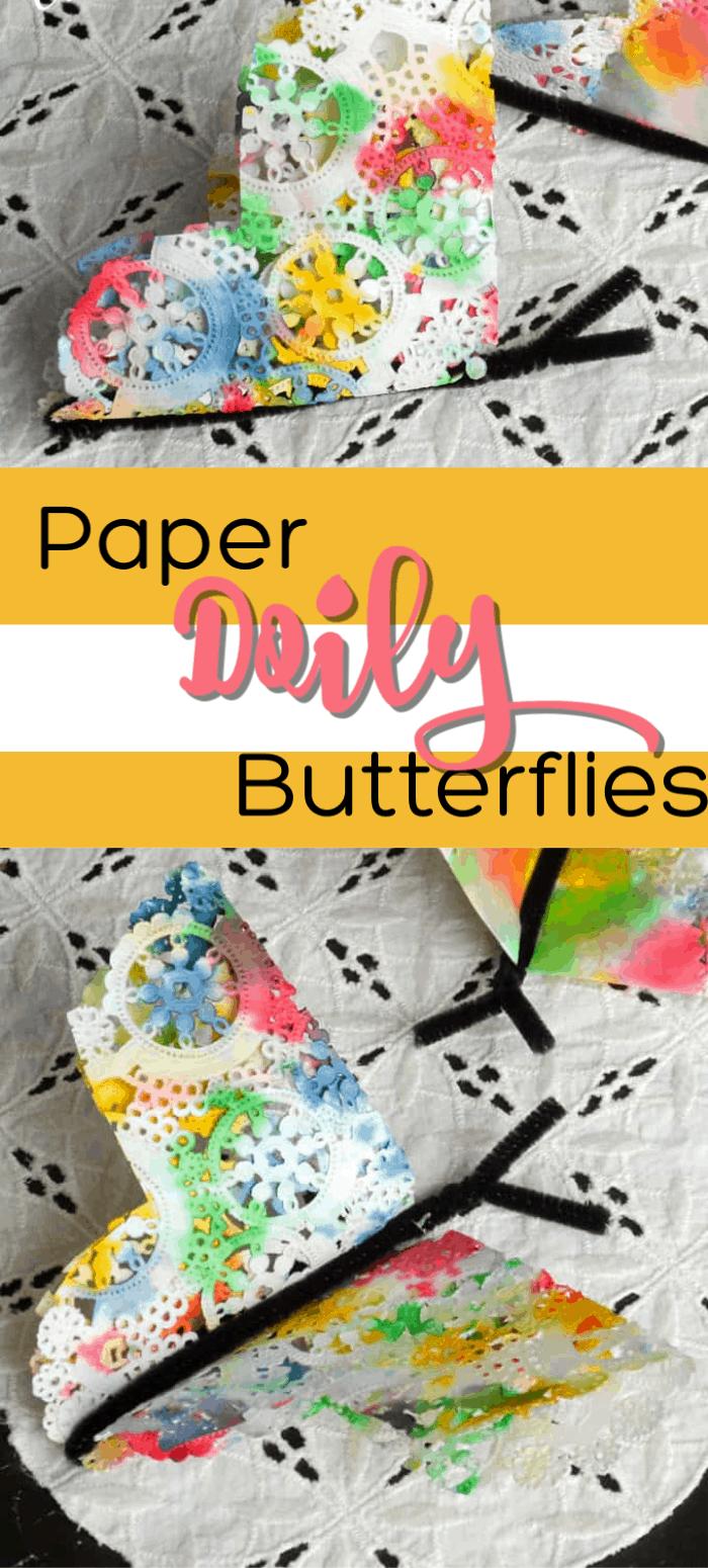 Paper Doily Butterflies