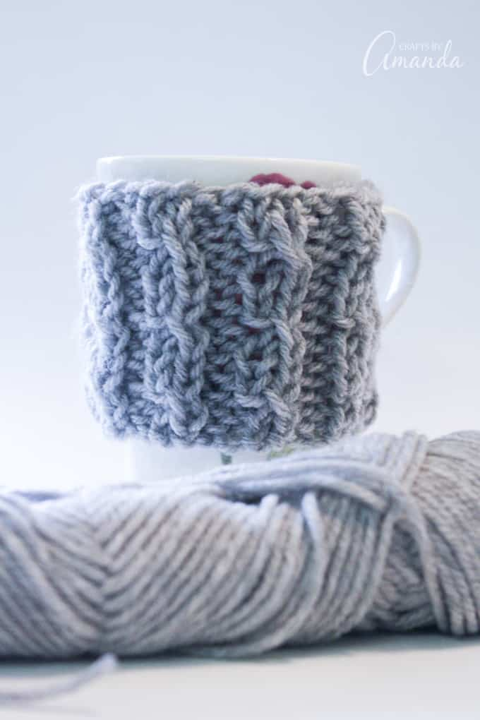 Coffee cozies are a great way to keep your coffee or tea warm (or your hands from being scalded on the cup).