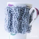 How to Knit a Coffee Cozy!
