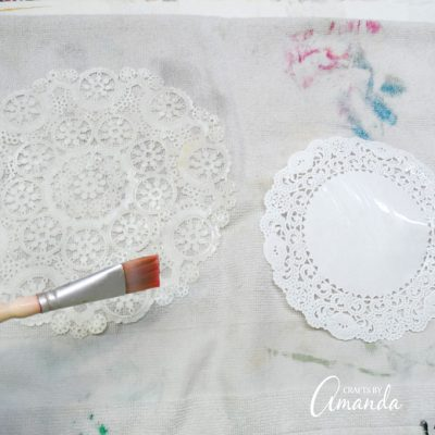 Paper Doily Butterflies A Fun Butterfly Craft Perfect For Spring