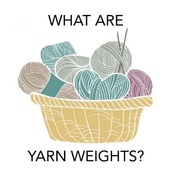Knitting Yarn Weights Explained : Yarn weights categories what is weight and why you