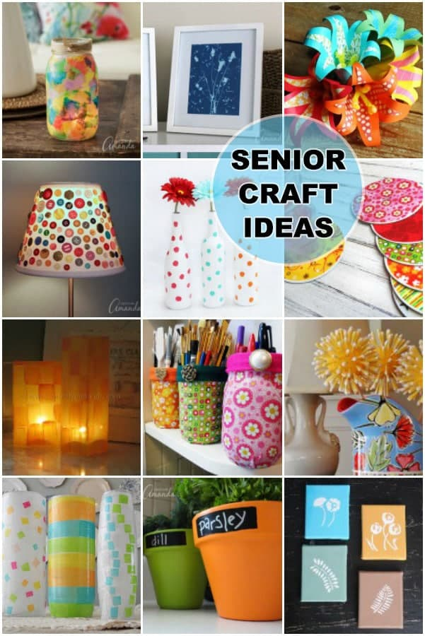Crafts for seniors easy crafts for senior citizens to make for Fall craft ideas for seniors