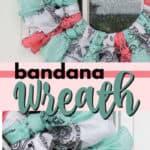 bandana wreath pin image