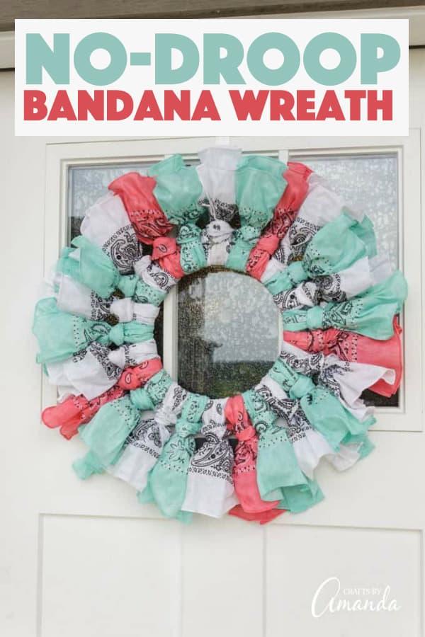 Bandana Wreath Tutorial