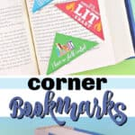 corner bookmarks pin image