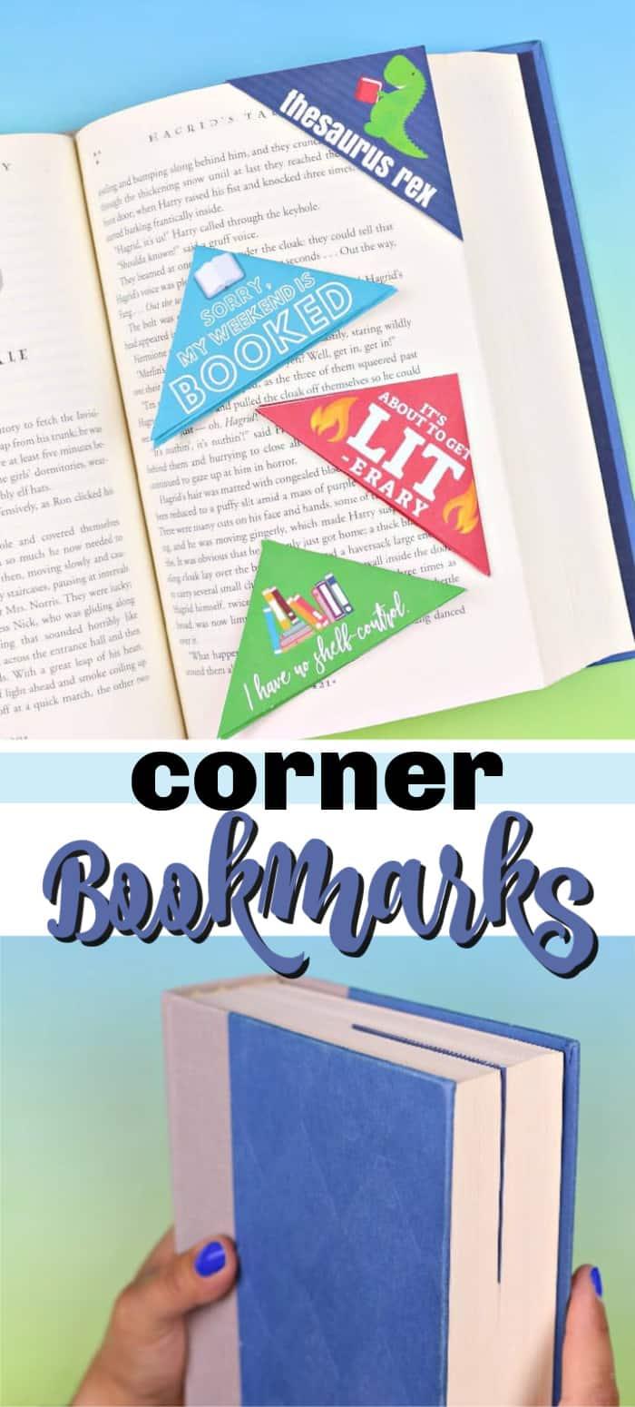 corner bookmarks pin image