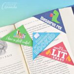 These punny printable corner bookmarks keep your place perfect, and they will make you smile when you see them! Choose your favorite and give the others to your bookworm friends!