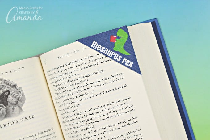 thesaurus rex corner bookmark