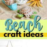 beach craft ideas pin image