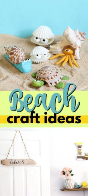 beach craft ideas pin image