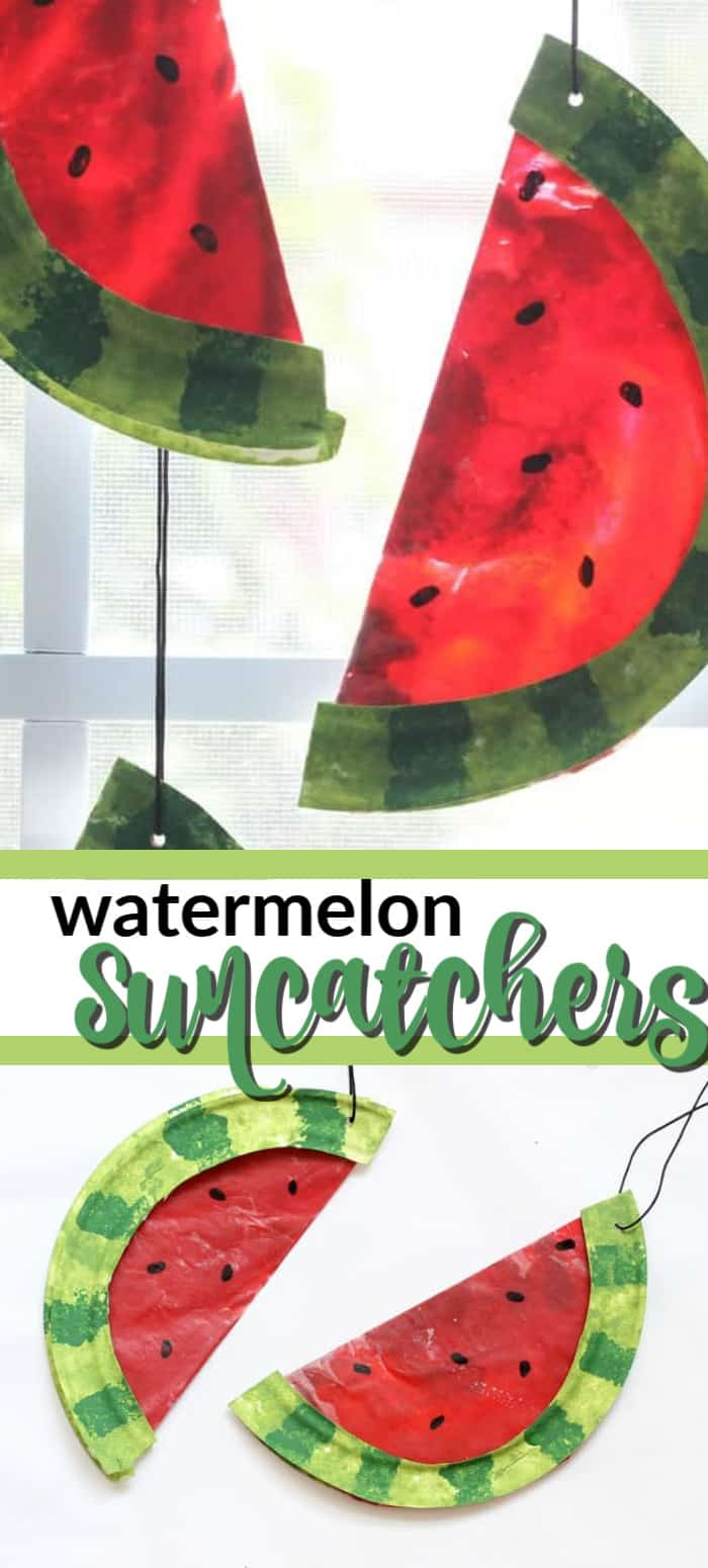 watermelon suncatcher pin image