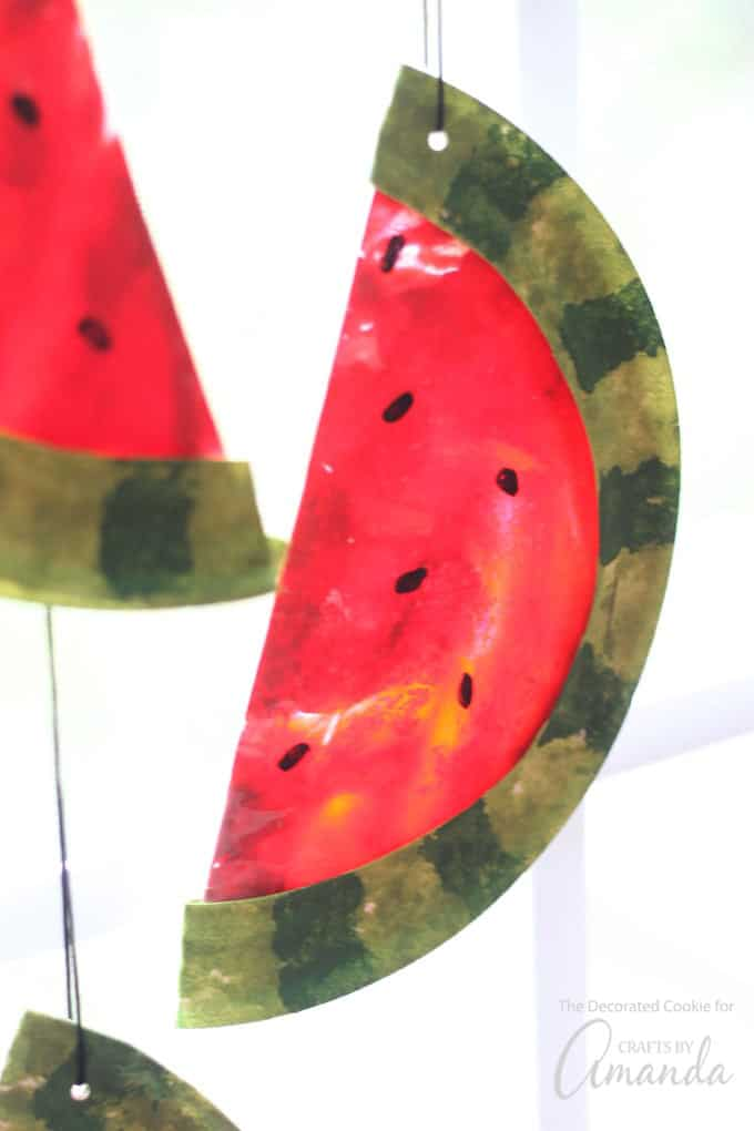 Watermelon Suncatchers