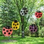ladybugs made of construction paper