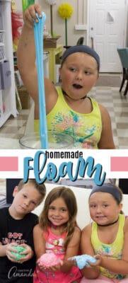 homemade floam pin image