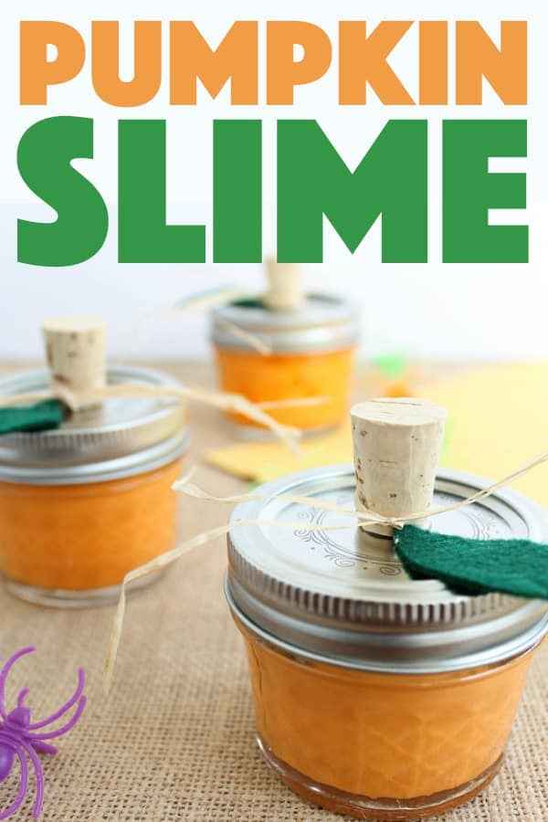 Pumpkin Slime for Kids!