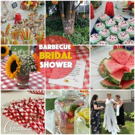 barbecue bridal shower ideas