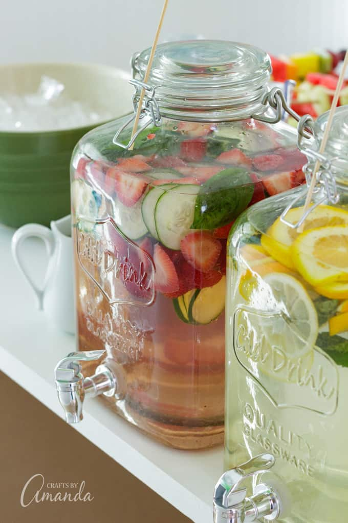 barbecue bridal shower beverages