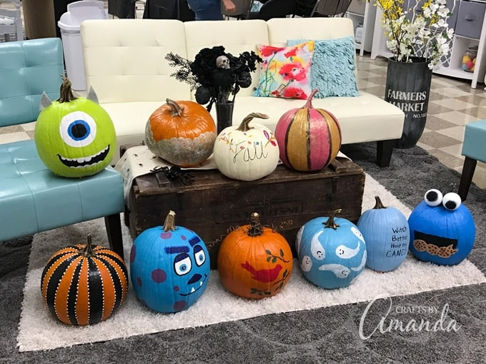 Pumpkin Painting Party How To Host A Fun Craft Night For Fall - How to paint a pumpkin