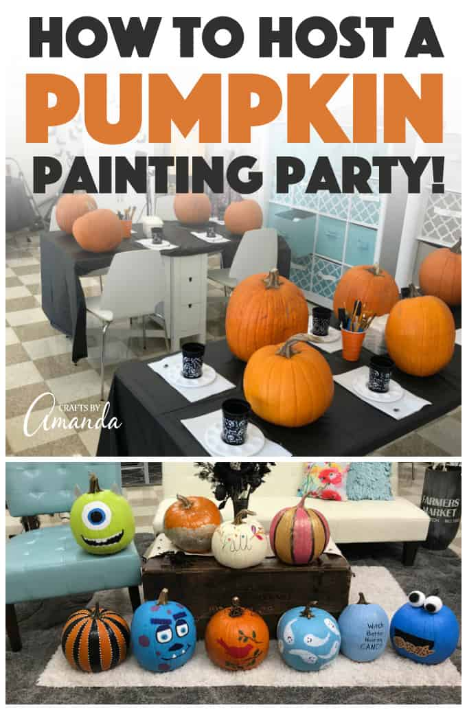 Pumpkin Painting Party How To Host A Fun Craft Night For Fall