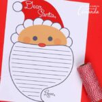 Free printable letter to santa for the kids this Christmas