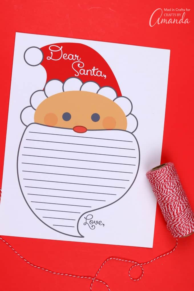 photograph regarding Printable Letter Paper named Letter Towards Santa Printable: print off this cost-free letter in the direction of