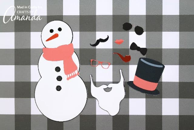 photograph relating to Printable Snowman identified as Produce a Snowman Printable: hold the children active throughout the winter season!