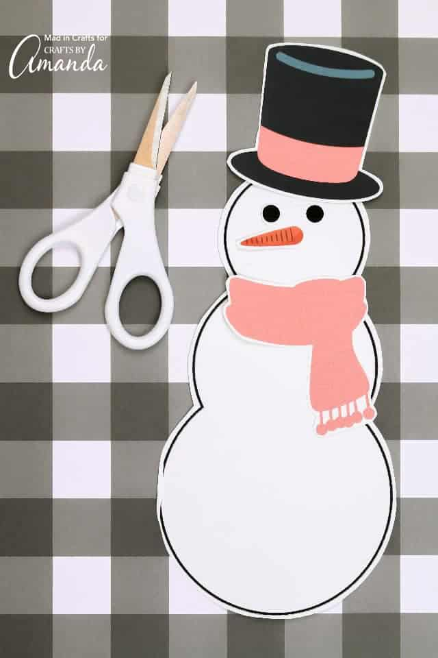 Snowman Printable: Do you want to build a snowman?