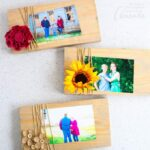 Scrap Wood Frames for Gift Giving