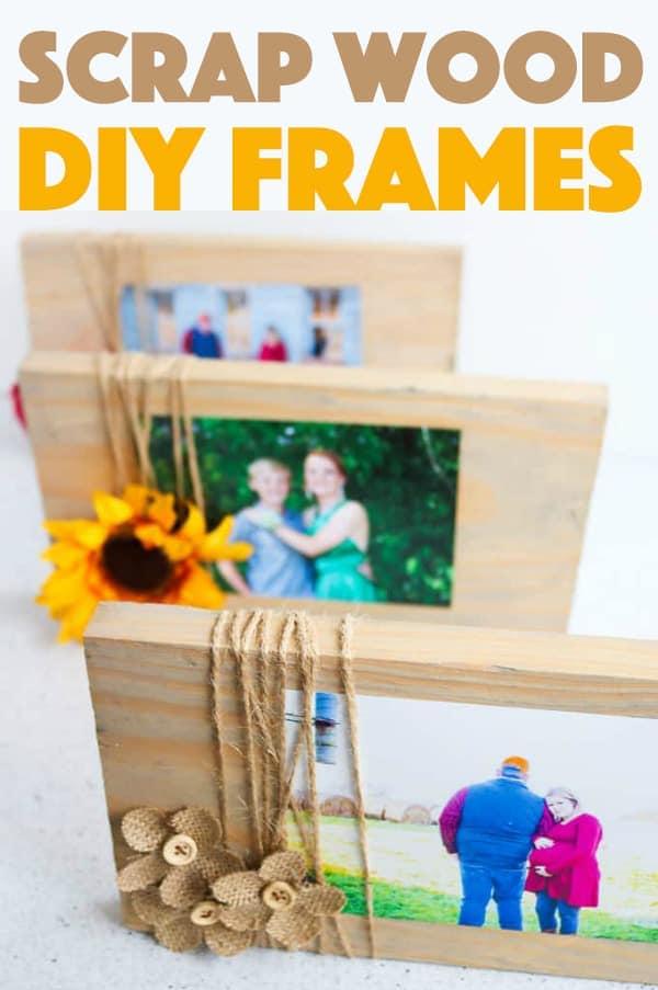Scrap Wood Frames