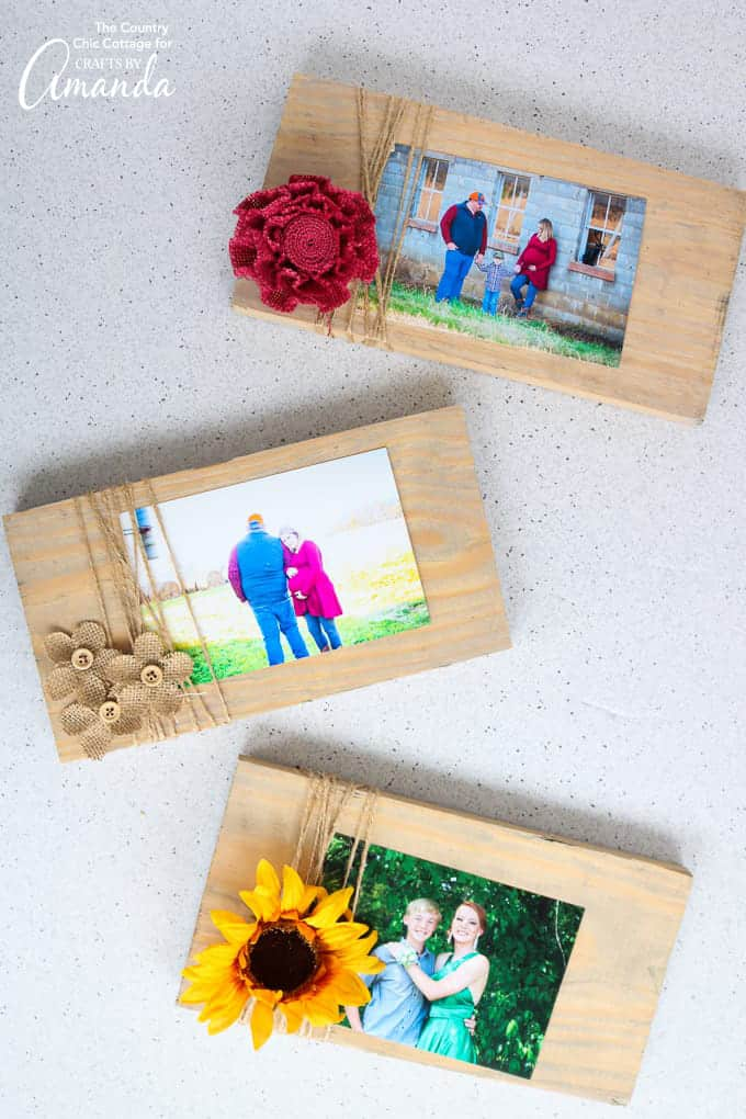 Scrap Wood Frames Great For Gift Giving Or Home Decor