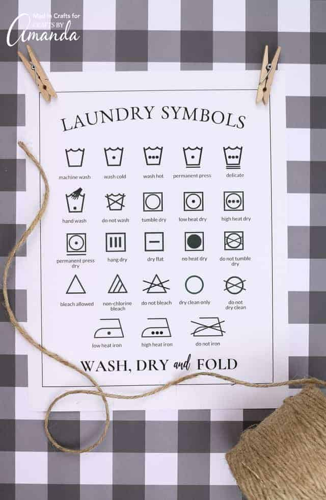 photo regarding Laundry Symbols Printable named Laundry Symbols Printable: comprehending people perplexing