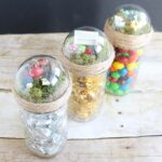 Make fairy garden topped jars to give as gifts!