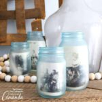 Mason Jar Photo Frames