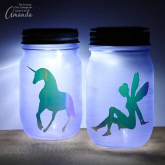 Mason Jar Nightlight