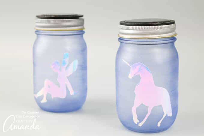 Unicorn and fairy nightlights