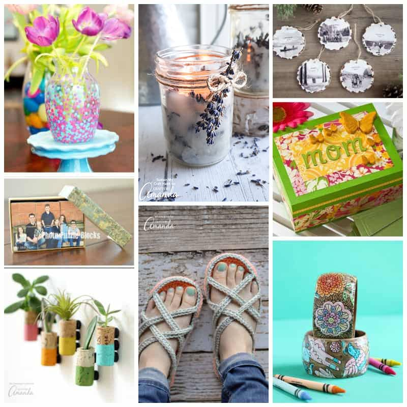DIY mother's day gift idea collage