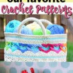 our favorite crochet patterns pin image