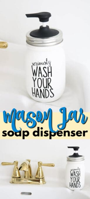 mason jar soap dispenser pin image