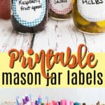 printable mason jar labels pin image
