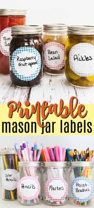 printable mason jar labels pin image