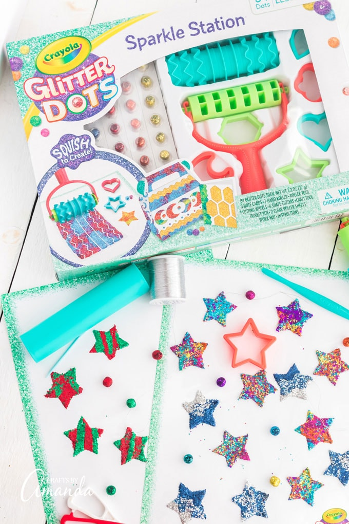 crayola glitter dots sparkle station product