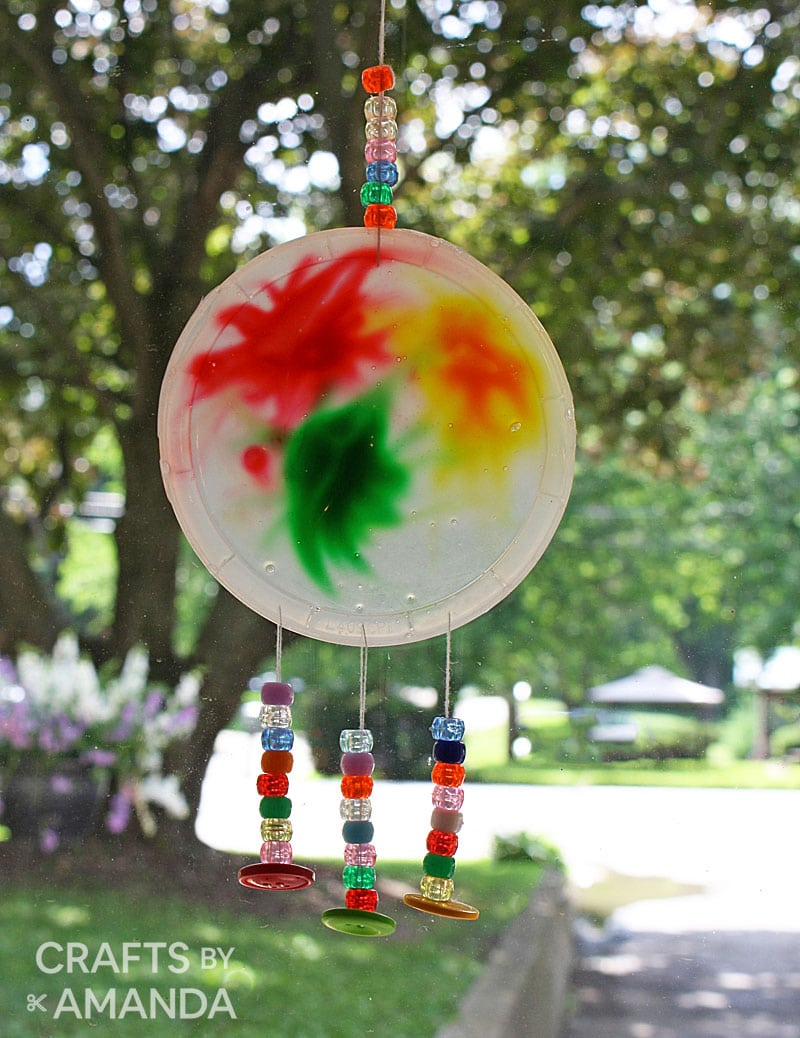 suncatcher with tree in background