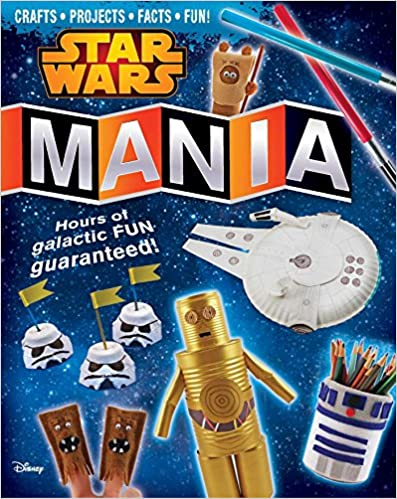 star wars mania craft book cover by amanda formaro